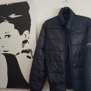 Calvin Klein Black Puff Jacket